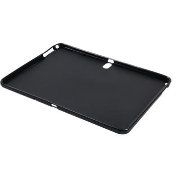 Silikon akıllı Tablet arka kapak Samsung Galaxy not 10.1 2014 P600 P601 / Tab pro 10.1 T520 T521 darbeye dayanıklı tampon durumda