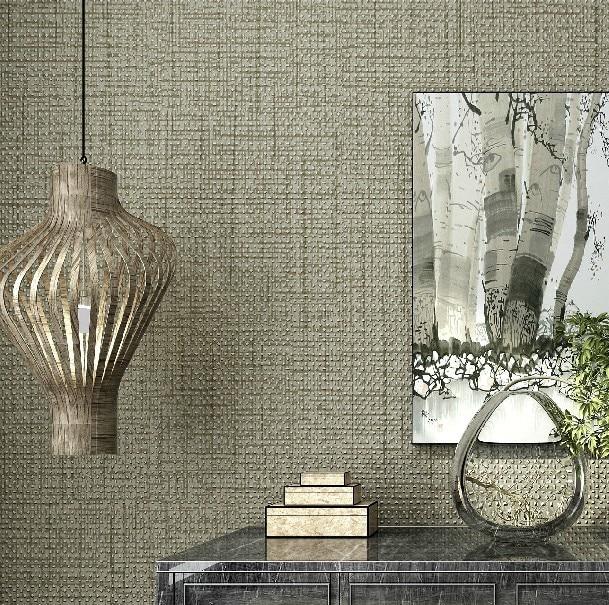 Compre textura cinza papel de parede rolo - Papel de pared moderno ...
