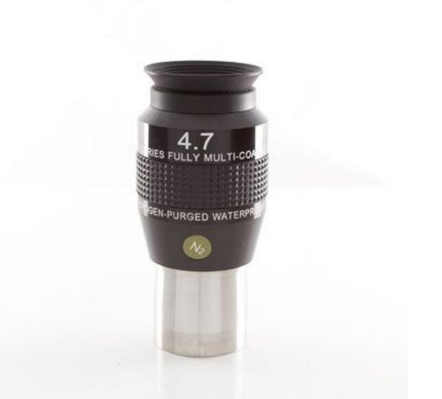 Explore Scientific 4.7mm 82-degree Wide-Angle Eyepiece Crushes Nitrogen Waterproof ES 82Eyepiece