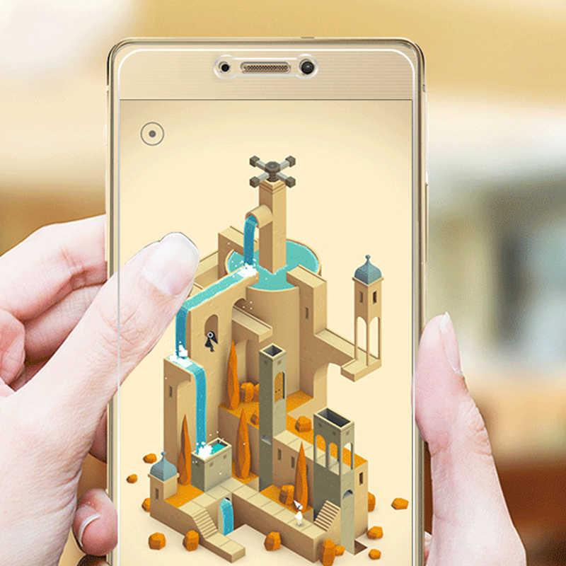 2.5D Vidro Temperado de Alta qualidade Para Huawei p8 2017 Lite Protetor de Tela Temperado película protetora Para A Huawei Honra 8 Lite