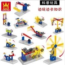 Wange Blocks Electric Toys Building Blocks Bricks Plastic Model Kits Educational Kids DIY Toys Compatible With Lego 80pcs/lot