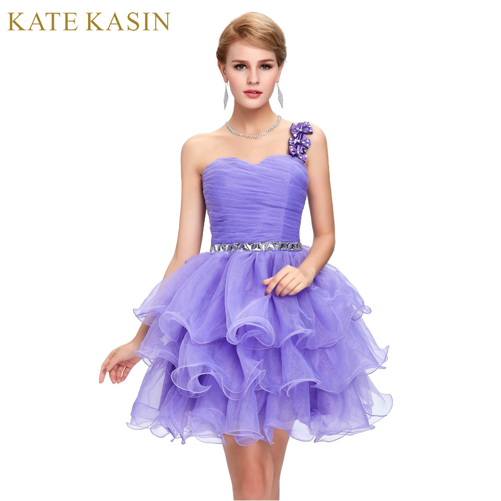Blue and Purple homecoming dresses