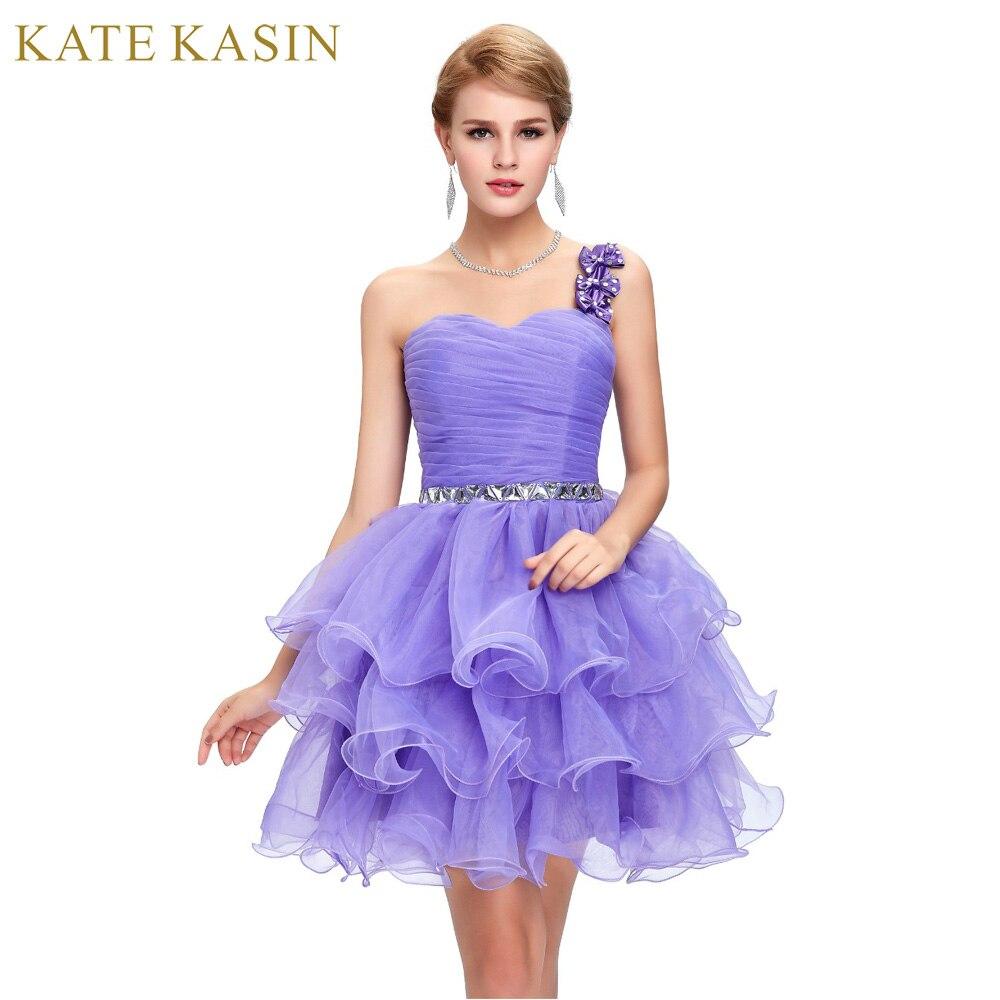 Online-Shop Prickelnde Perlen Prom Kleid Rosa Blau Lila Schulter ...