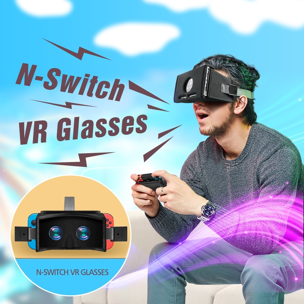 OIVO N-Switch VR Glasses Virtual Reality 3D VR Glasses Box Ultralight Movies Game For Nintend SWITCH VR Glass For Odyssey Games