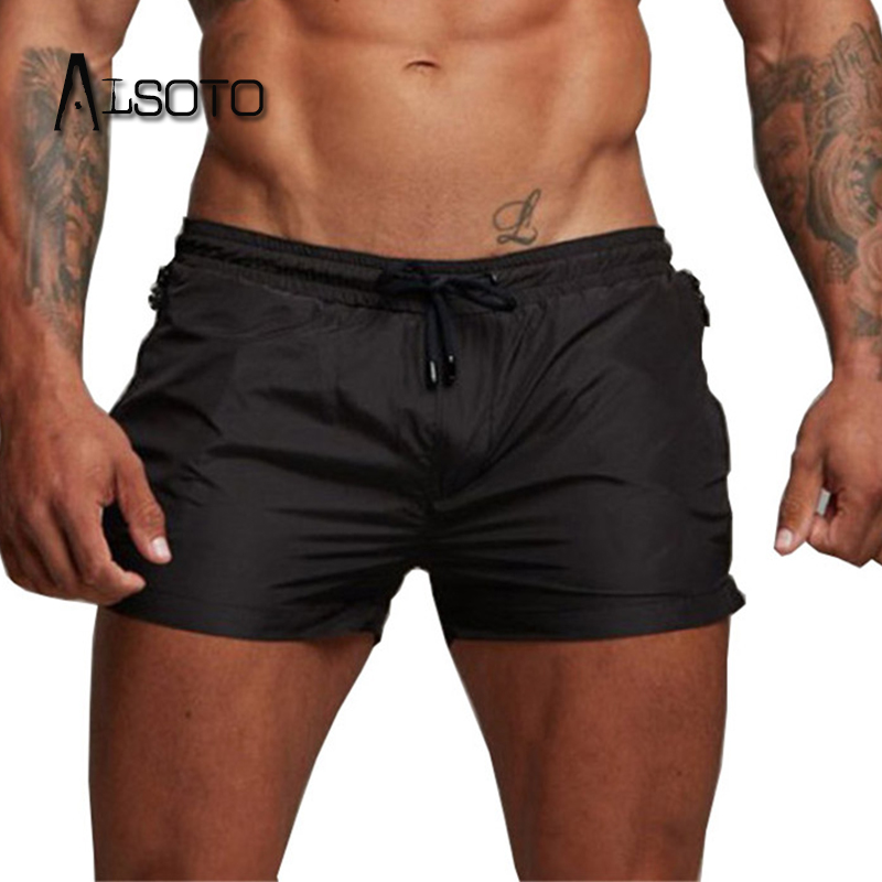 Summer Swimsuit 2019 Man board shorts Swimming Beach Shorts For Men Swimwear Swim Trunks Bathing mayo Surf short de bain homme