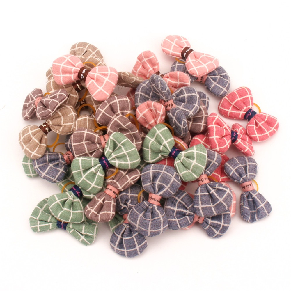 PipiFren Small <font><b>Dogs</b></font> Accessories Bows Hair Clips Grooming Yorkshire Pets Hair Bows <font><b>Table</b></font> Supplies chien accessoires pour chiens image