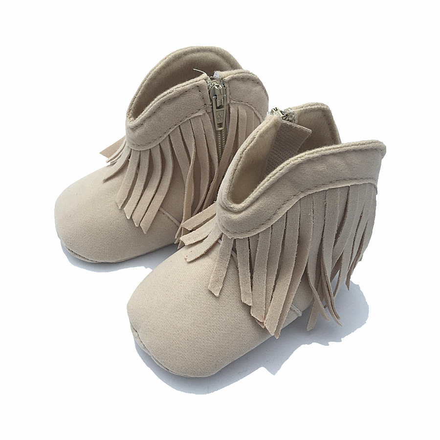 New-fringe-baby-girl-shoes-non-slip-soft-bottom-toddler-shoes-Cotton-princess-0-1-year-boots-5