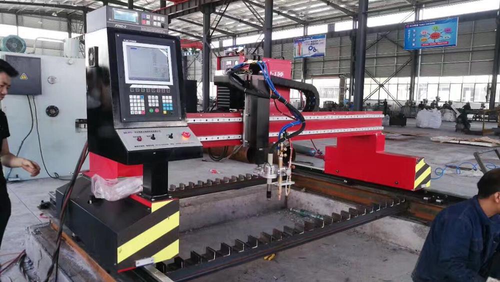 Gantry cnc plasma schneiden maschine schnelle lieferung und einfach installieren gute kosten China