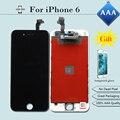 5 pcs display lcd para pantalla iphone 6 4.7 aaa toque Montagem Digitador Da tela de Substituição em Preto/Branco + Dom + Livre grátis