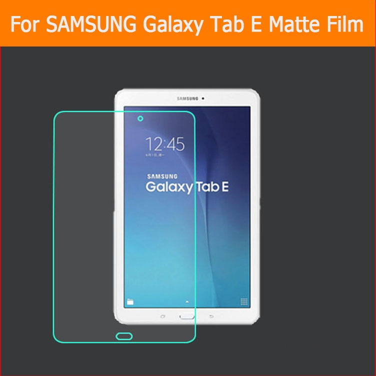 Anti-Glare Screen Protector Tablet Matte Film For Samsung GALAXY Tab E SM-T560 9.6