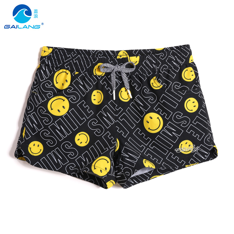 Summer Female Bathing suit swimsuit quick dry surfing sexy hawaiian joggers swimsuit beach   shorts   printed   board     shorts   briefs