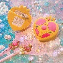 Sailor moon Cosmic Heart компактный USB AC зарядное устройство Косплей Костюм