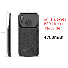 External for Huawei Honor 10 9 8 Lite7X 8X or for Huawei P20 Lite Nova 3e Battery Charger Case  Power Bank Charging Case