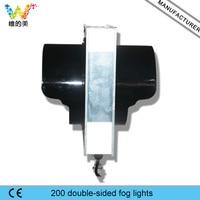 200 мм к задней Светофоры супер яркий один аспект 110 В 220 В желтый светодиодный фонарь