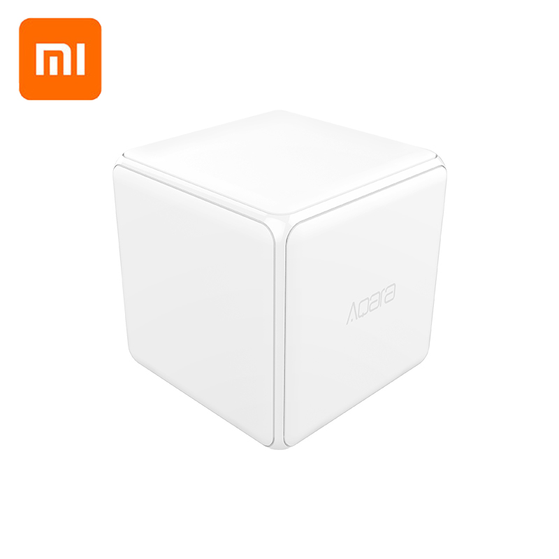 Xiaomi Aqara Magic Cube Controller Zigbee Version Controlled by Six Actions For Smart Home Device work