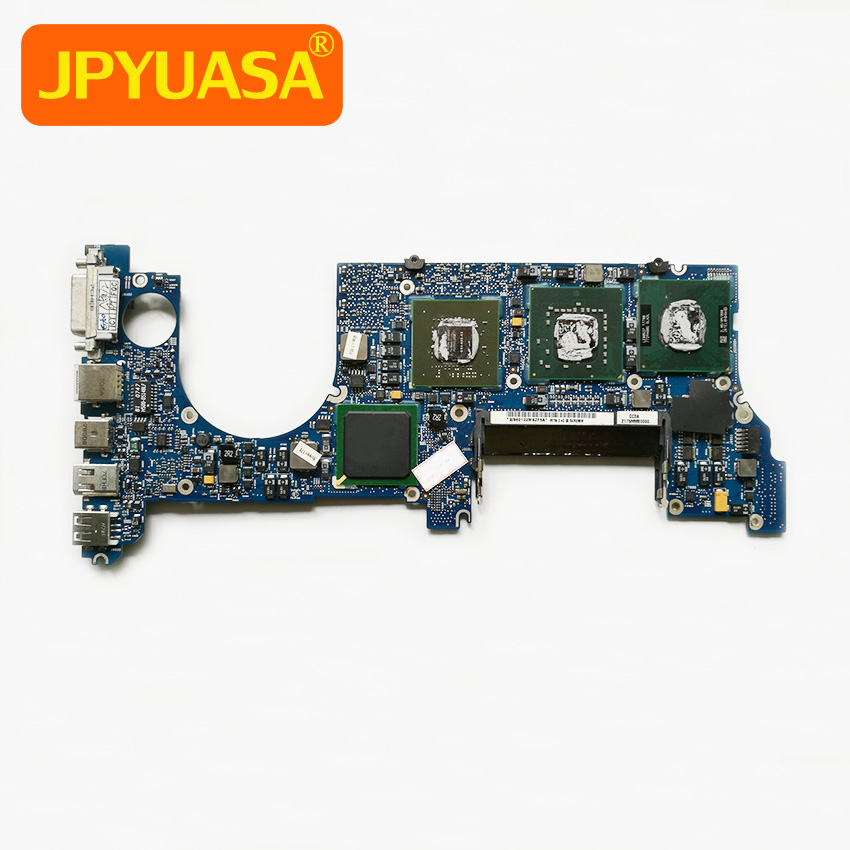 661-4956 Motherboard For Macbook Pro 15 A1226 Logic Board CPU 2.4GHz T7700 P/N 820-2101-A MA896LL/A 2007 Year for macbook pro 17 a1229 motherboard logic board 820 2132 a 661 4958 2 4ghz t7700 ma897ll a 2007