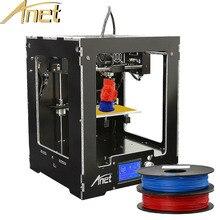 Anet A3 impresora 3d de Alta precisión Completamente Montado Escritorio i3 DIY 3d kit de Impresora Reprap envío 1 kg/1 rollo de filamento impressora 3d