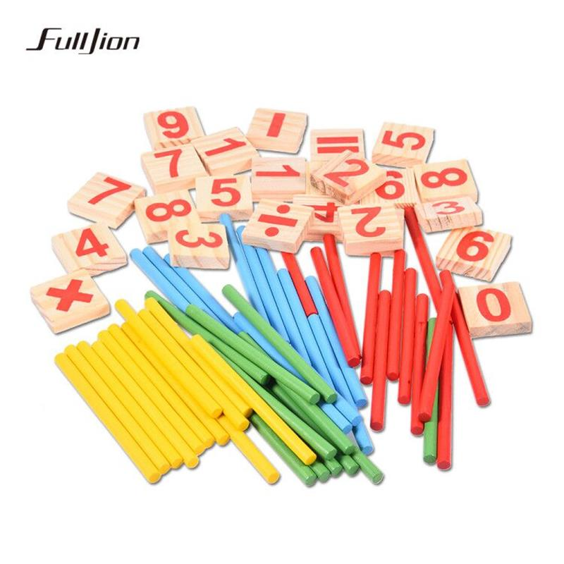 Fulljion Math Toys Montessori Learning Education Teaching ...