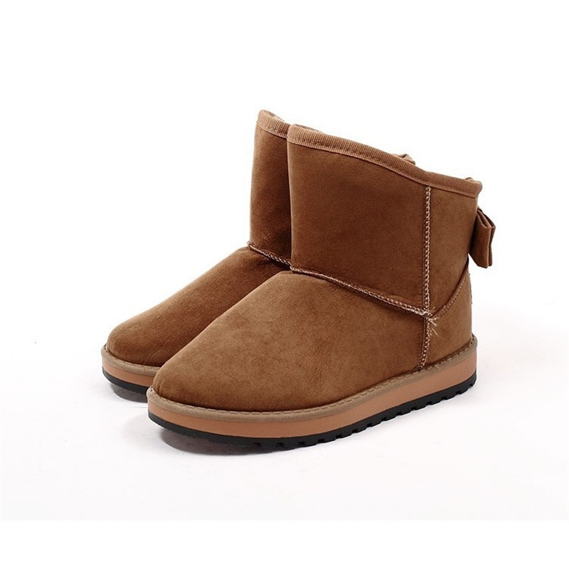 Women Shoes Fashion Winter Warm Ankle Snow Boots For Women Boots Plush Femininas Snow Boots Women Boots Warm New Bowtie 2016 new arrival ankle boots for women fashion winter shoes warm plush snow boots shoe bowtie women boots polka dot botas mujer