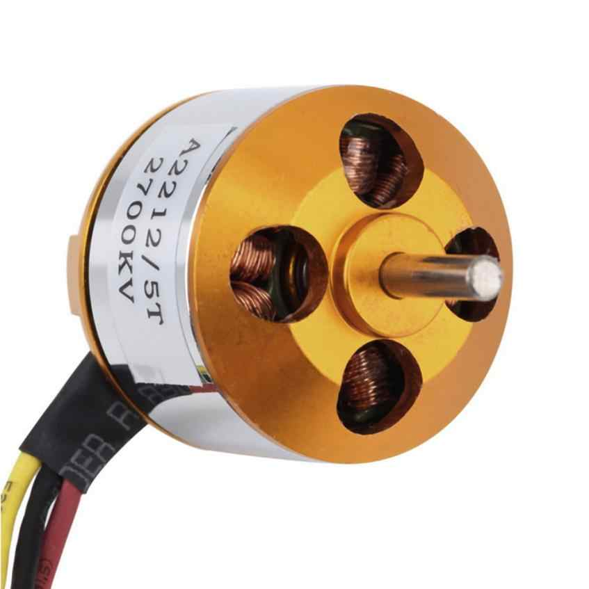A2212 KV2700 Brushless Electric Motor for RC Fixed Wing 4-Axis Multicopter Motor Mini Drone parts #20