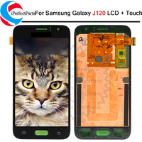 LCD Display For Samsung Galaxy J1 2016 J120F J120DS J120G J120M J120 LCD Touch Screen Digitizer Assembly Replacement+Repair tool