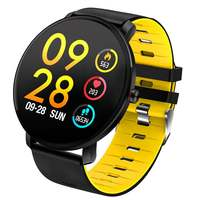 Hot Sale K9 Smartwatch Men Full Touch 2.5D Screen Ultra thin Heart Rate Blood Pressur Detachable Strap Fitness Wearable Devices