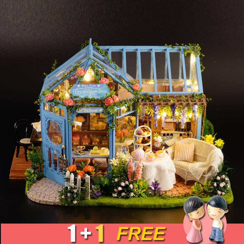 Miniature Dollhouse FAIRY GARDEN  Accessories ~ Large Blue & Rose Rag Dolls NEW Dekoracje Ogród i Taras