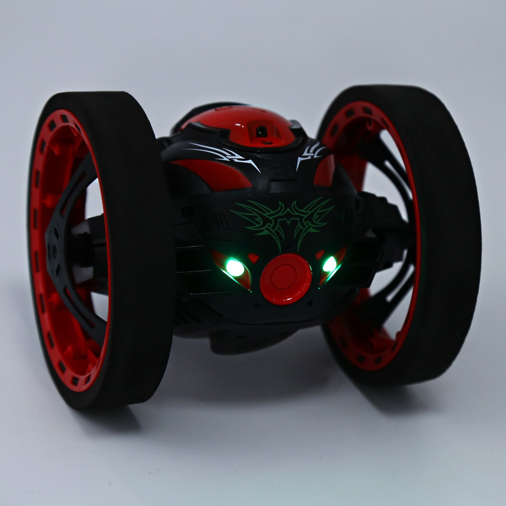 Mini-Cars-Bounce-Car-PEG-SJ88-24GHz-RC-Car-with-Flexible-Wheels-Rotation-LED-Light-Remote-Control-Robot-Car-Toys-for-Gifts-5