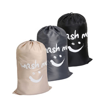 Washing Me Laundry bag, Large Travel Foldable Bath Basket Dirty Clothes Storage Bags Organizer Drawstring Closure