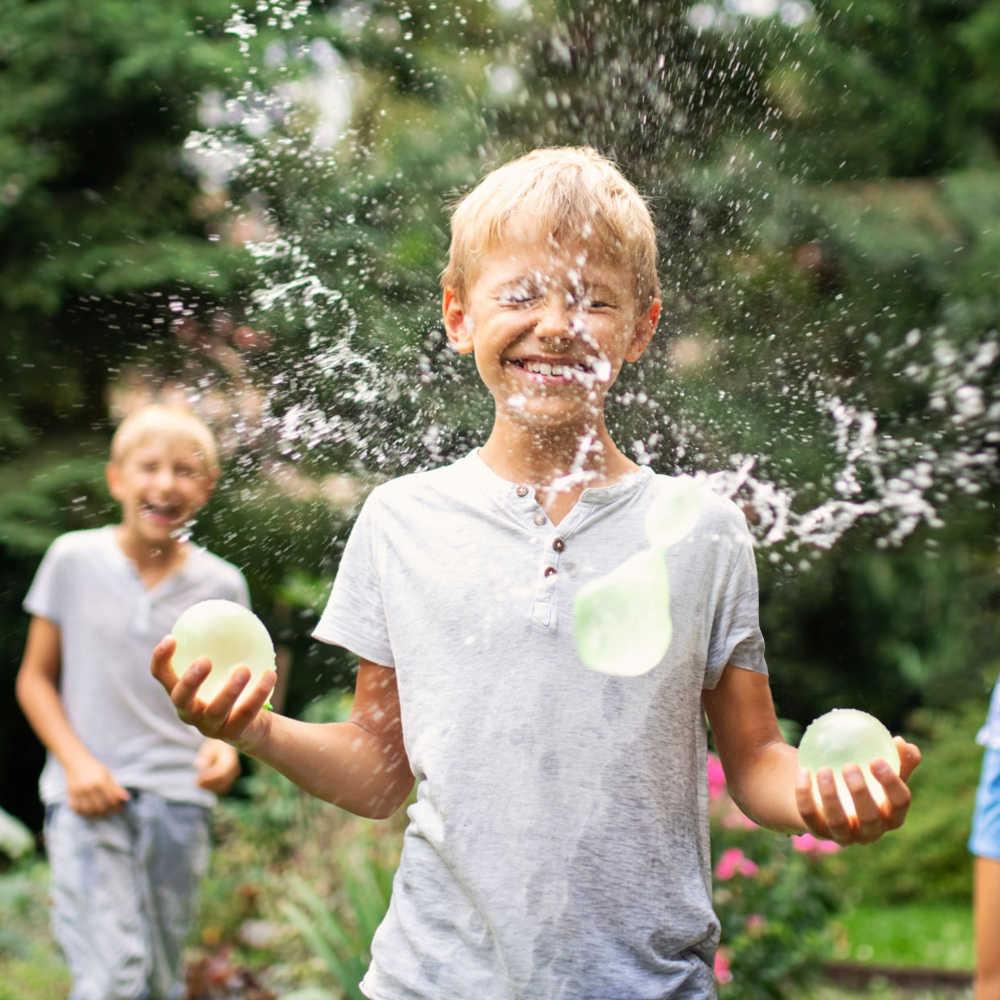 740 шт. резиновые шары для воды пачка шариков детей взрослых воды бомбы пляж летней вечеринки игры Открытый игрушечные лошадки