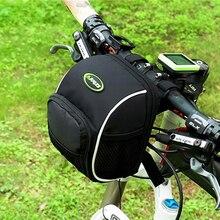 Outdoor Sports bike bag Bicycle Front Bags Cycling Basket Pannier Frame Tube Handlebar Bag bisiklet aksesuar bike accessories
