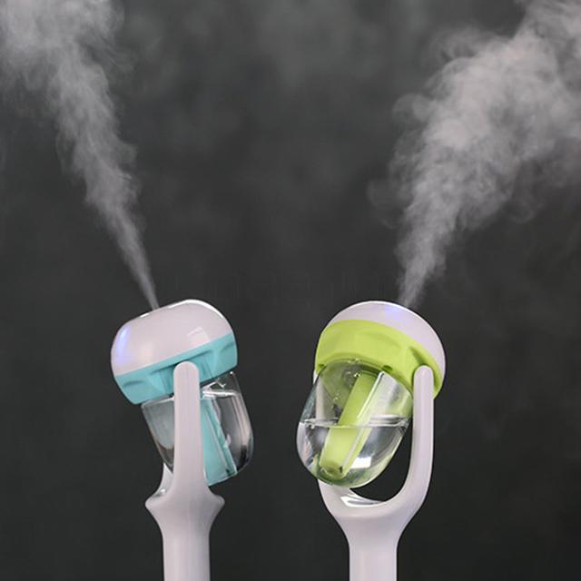 12V Car Steam Air Humidifier Aroma Diffuser Mini Air Purifier Aromatherapy Essential Oil Diffuser Mist Maker Sprayer For Car
