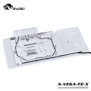 Image 1 - BYKSKI Water Block use for AMD/MSI/GIGABYTE/SAPPHIRE/XFX Radeon RX Vega 56/64 Refrence Edition / Full Cover Graphics Card Block