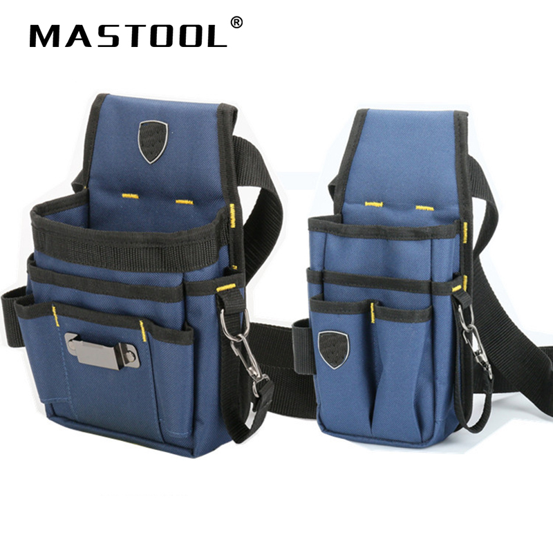 Multifunction Oxford Tool Waist Bag Multiple Pouch Woodworking Electrician Hardware Dedicated Repair Kit Tool Bag With Belt