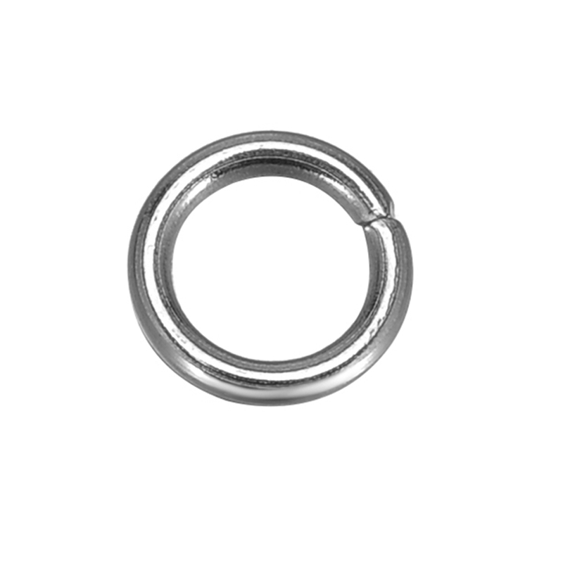 DoreenBeads 500 Stainless Steel Open Jump Rings 5mm Dia. Findings (B10269), yiwu geco 4 5mm 500 2137453