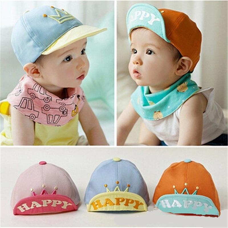 New Baby Hats Children Baseball Caps Boys Girls Summer Hats Little Stars Cute Sun Hat Baby Kids Newborn Cotton Cowboy Cap