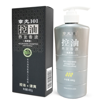 ZHANGGUANG 101 Nourishing Shampoo oil-controlling 400g Chinese medicine therapy anti hair loss hair oil Control 101 hair care