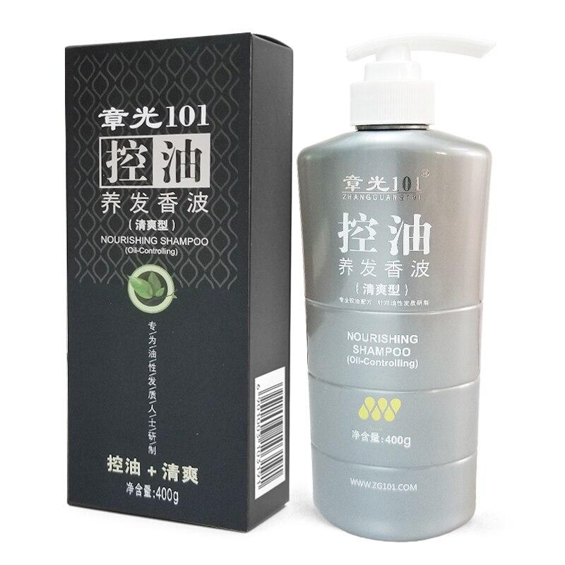ZHANGGUANG 101 shampooing nourrissant contrôle de l'huile 400g médecine chinoise thérapie anti perte de cheveux contrôle de l'huile capillaire 101 soins des cheveux