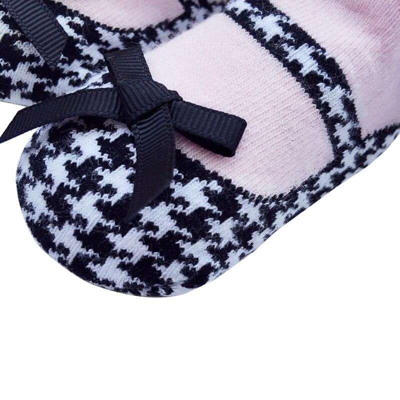 1 Paar Baby Socken Baby Mädchen Prinzessin Anti-slip Boden Socken Mit Bogen Spitze Dance Herbst Neue-ankunft Baumwolle Schöne 0-2y Z