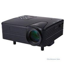 Mesuvida [Genuine] H80 Portable Mini LED LCD HomeTheater Game Projector Support PC Laptop Full HD 1080P Video AV/VGA/USB/SD/HDMI