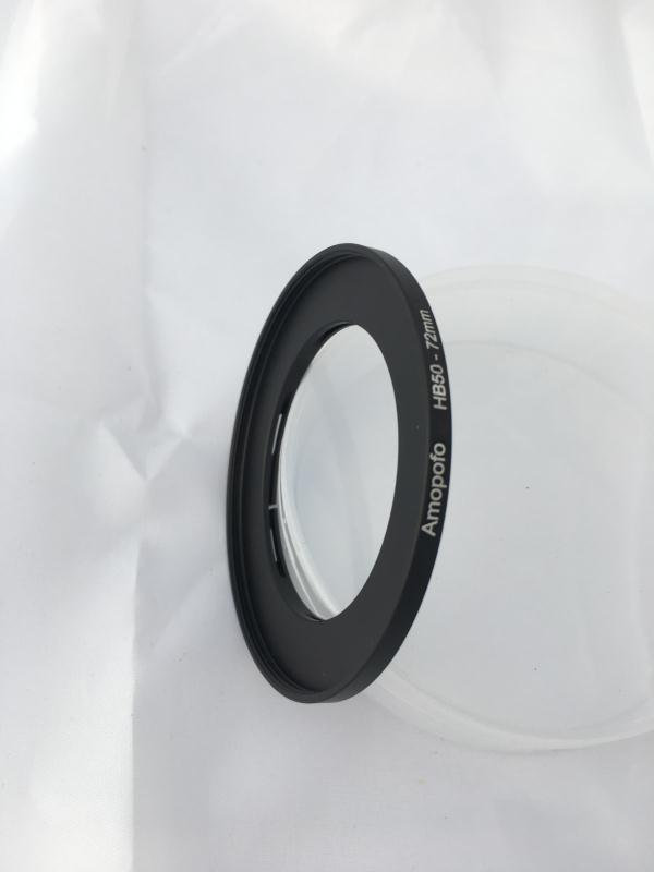 Hasselblad HB50-72mm Bayonet 50 to 72mm Screw Lens Filter Thread Adapter Ring