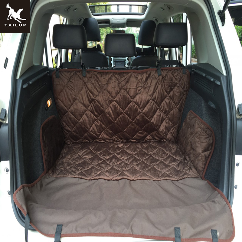 Tailup Pet Travel Car Seat Cover Waterproof Quilted Soft