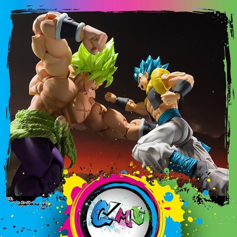 Dragon Ball Z DBZ S. H. Figuarts SHF Super Saiyan personne Broly pleine puissance dieu Gogita figurine d'action