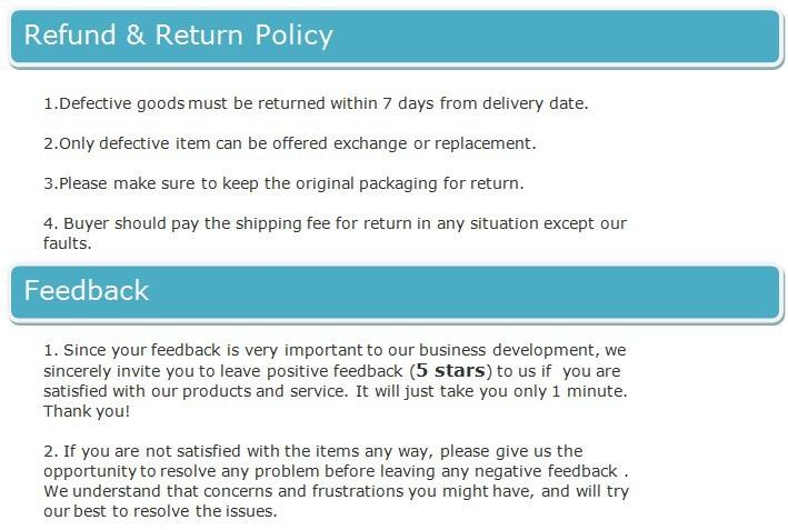return feedback