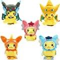 7 Tipos Opção brinquedos De Pelúcia Pokemon Pikachu Cosplay gyrados Mega Charizard Stuffed Animal Dolls Brinquedos Para Crianças caçoa o Presente de Natal