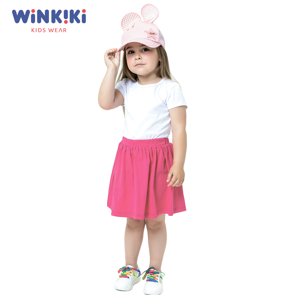 Skirts WINKIKI WKG91364 baby clothes skirt for girl school uniform Cotton  Casual