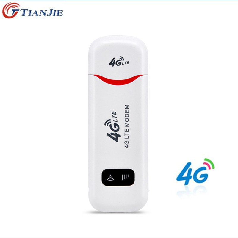 TIANJIE 3G 4G WiFi Modem wingle LTE USB Hotspot wireless Dongle CAR WIFI ROUTER For Windows Mac OS with sim card slot