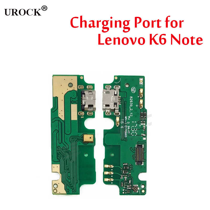 For Lenovo K6 Note K6 Note K53a48 USB Dock Connector Charging Port Flex Cable With Microphone Replacement-in Mobile Phone Fle