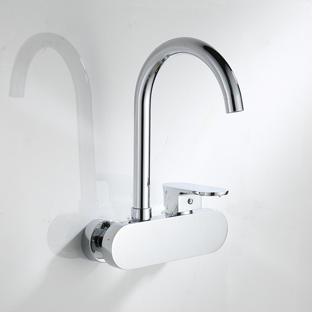 Top quality cucina parete mix di acqua calda e fredda rubinetti ...