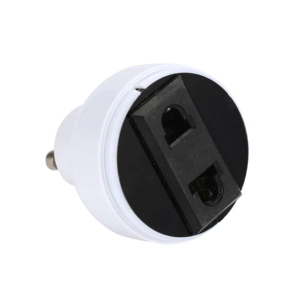 GU10 Lamp Socket Light Holder US/EU Plug White Converter Screw Bulb lamp Base Connector Lighting Fixture Accessories